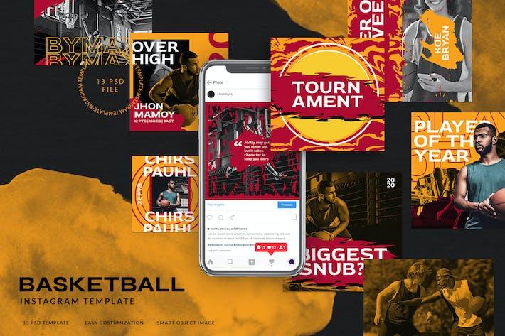 Thumbnail for Sport Instagram Stories for Basketball Team V.02