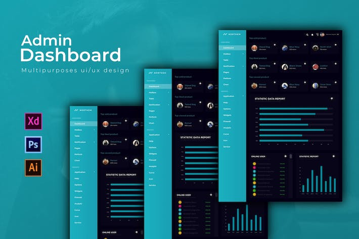 Thumbnail for Northem Dashboard | Admin Template