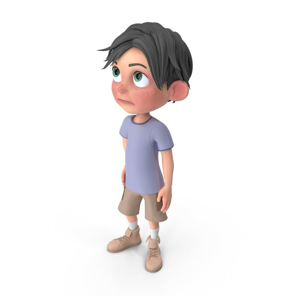 Cover Image for Cartoon Boy Jack Bored