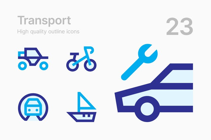 Thumbnail for Transport Icons