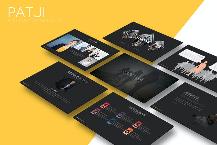 Thumbnail for Patji - Powerpoint Template