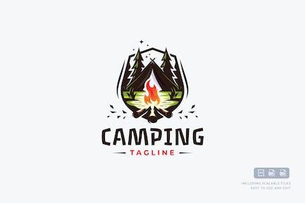 Camping Logo Template