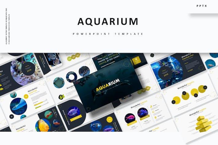 Cover Image For Aquarium - Powerpoint Template
