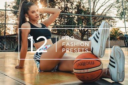 12 Pro Fashion Lightroom Presets