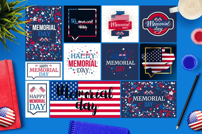Thumbnail for Memorial Day Banners
