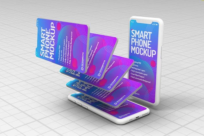 Thumbnail for Phone – Inovative Mockup Template