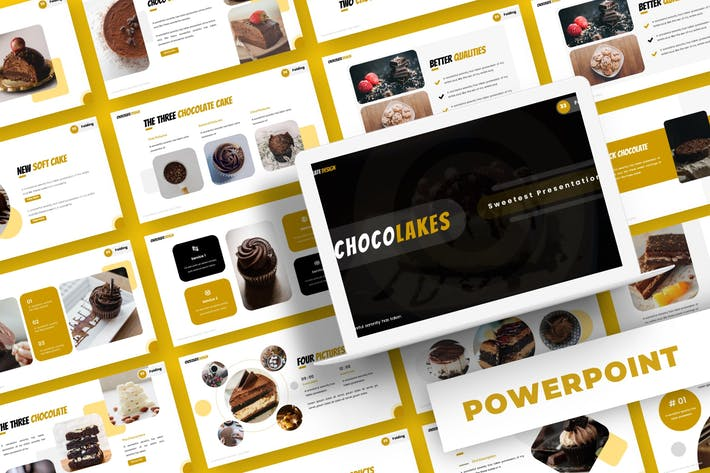 Thumbnail for Chocolake - Powerpoint Template