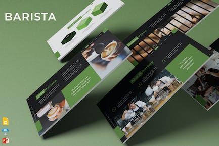 Barista - Шаблон презентации