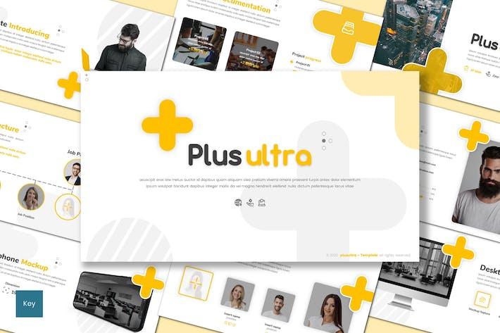 Thumbnail for Plus Ultra - Шаблон Keynote
