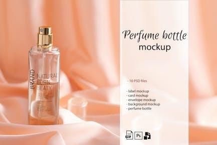 Perfume Bottle Mockup Set