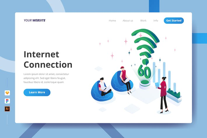 Thumbnail for Internet Connection - Landing Page