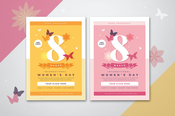 Thumbnail for Womens Day Flyer 03