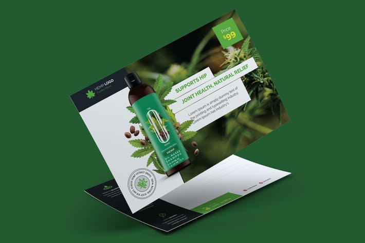 Cover Image For Hemp Product Postcard