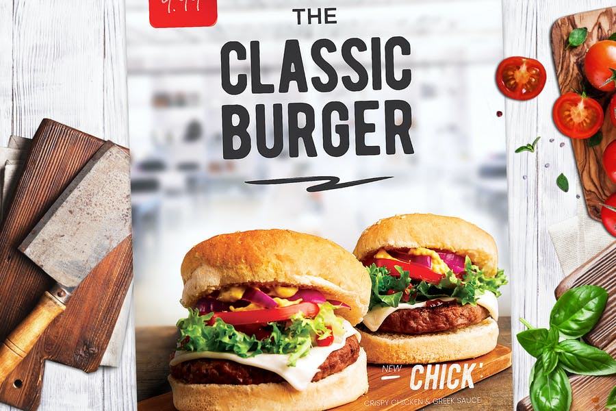 Burger Flyer - product preview 0