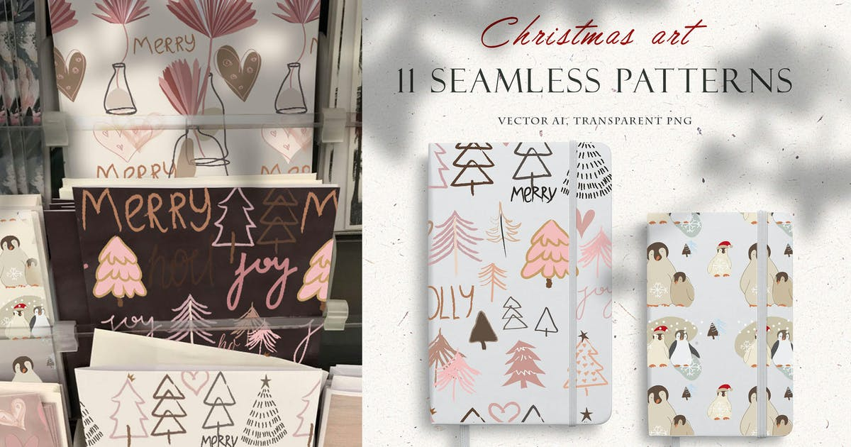 Download 11 Christmas patterns by MikiBith