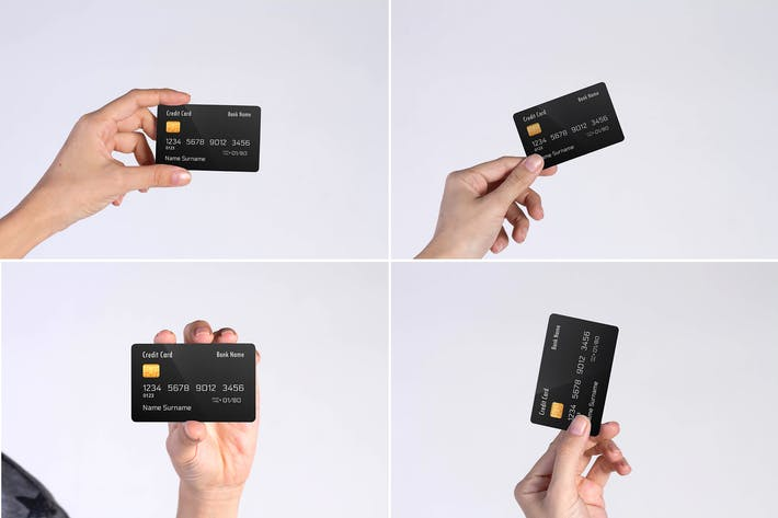 Cover Image For Credit Card Mock Up