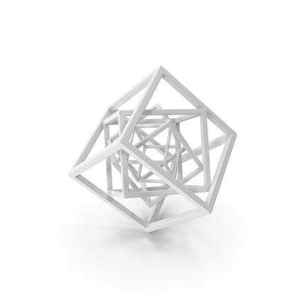 Cube in Cube White