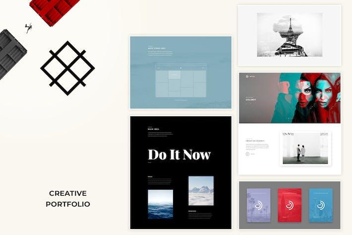 Thumbnail for Wythe - Creative Portfolio HTML Template