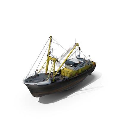 Fischerboot-Trawler