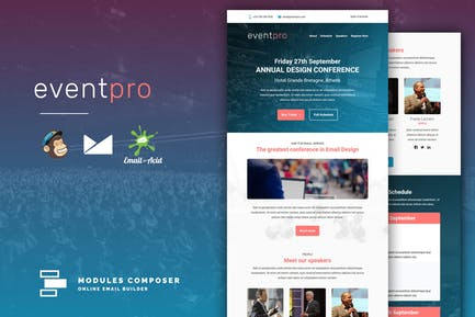 EventPro - Event / Conference Responsive Email