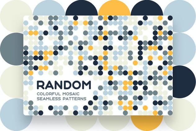 Random Mosaic Seamless Patterns