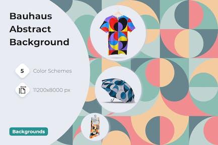 Background Circles Bauhaus Style