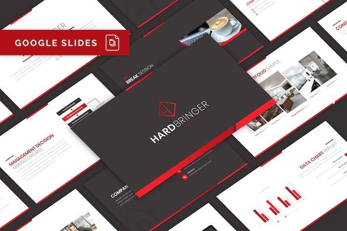 Thumbnail for Hardbringer - Business Google Slides Template
