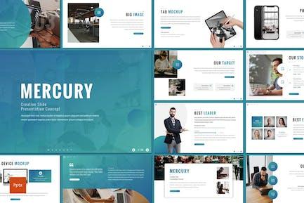 Mercury - Plantilla de Powerpoint empresarial