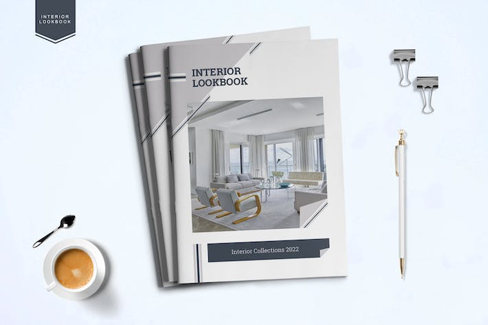 Thumbnail for Interior Lookbook Template