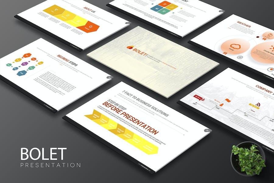 Bolet Powerpoint