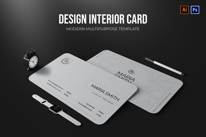 Thumbnail for Design Interior - Business Card