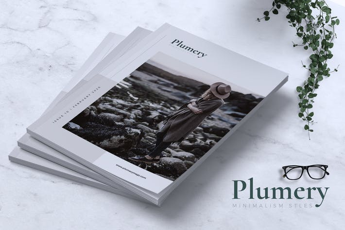 Thumbnail for PLUMERY Minimal Magazines