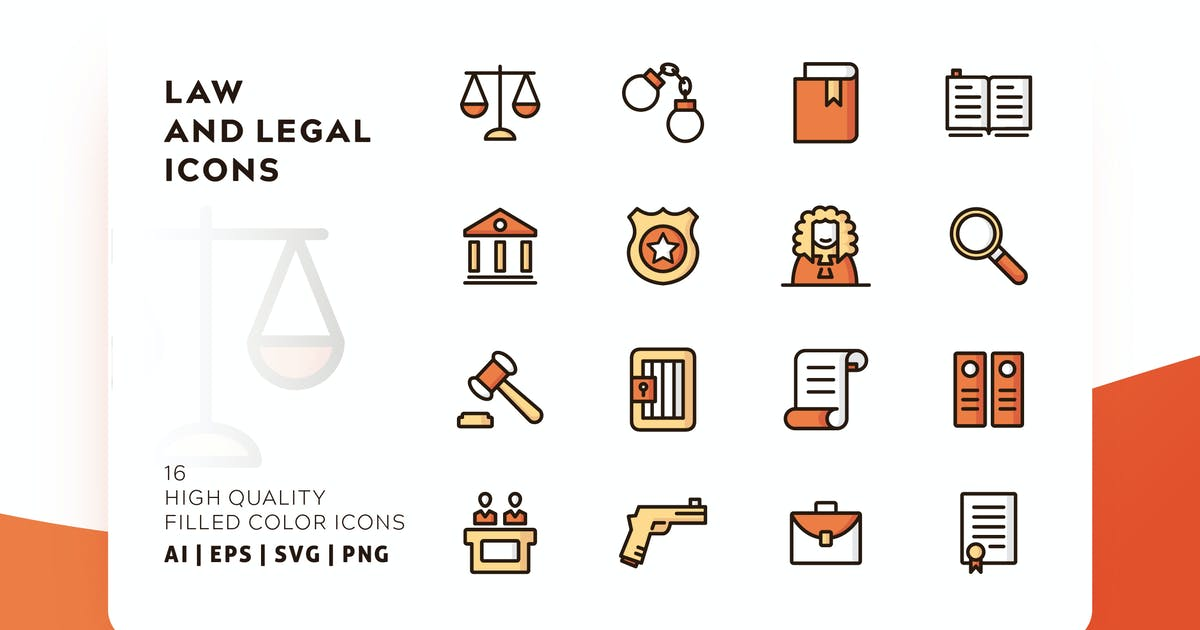 Download LAW AND LEGAL FILLED COLOR by subqistd