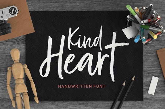 Kind Heart Font Duo - product preview 13