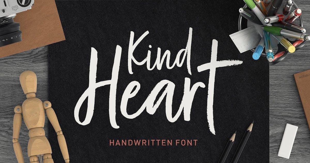 Download Kind Heart Font Duo by dhanstudio