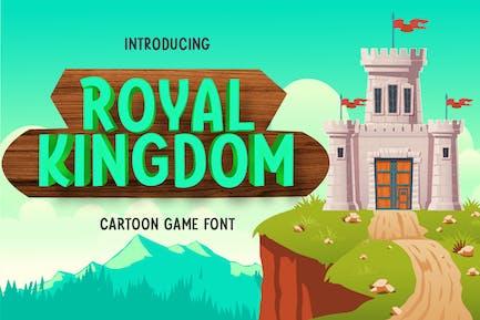 Royal Kingdom - Fuente del juego de dibujos animados