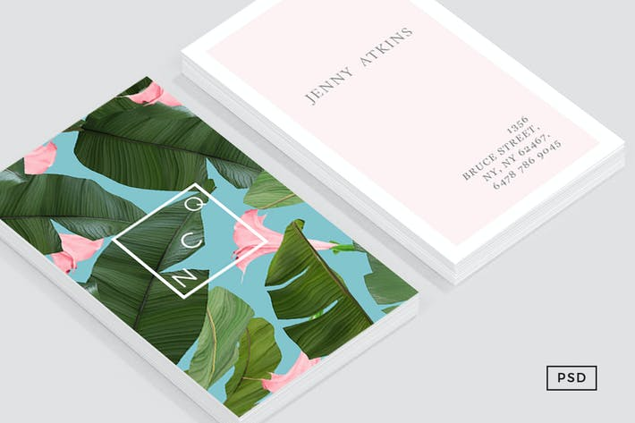 Thumbnail for Wild Flower Business Card Template
