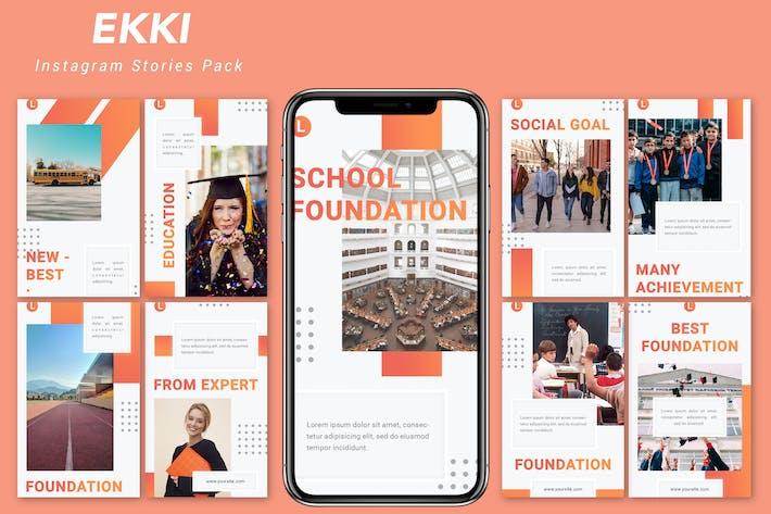 Thumbnail for Ekki - Instagram Story Pack