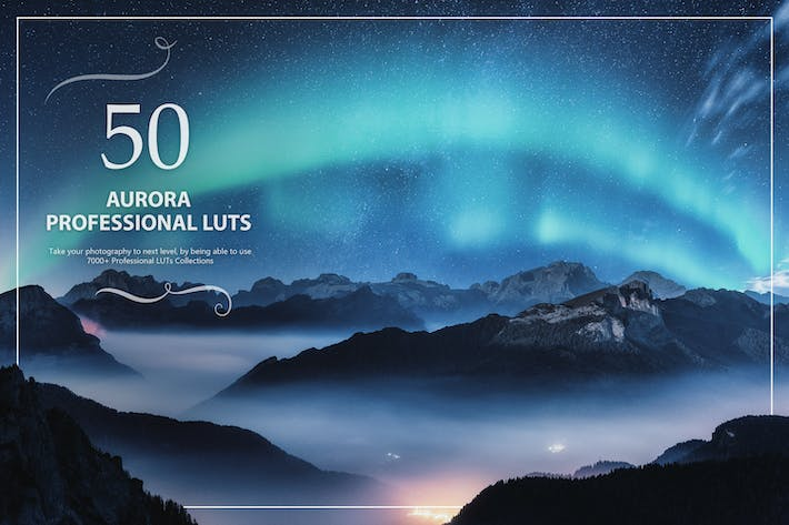 Thumbnail for 50 Aurora LUTs Pack