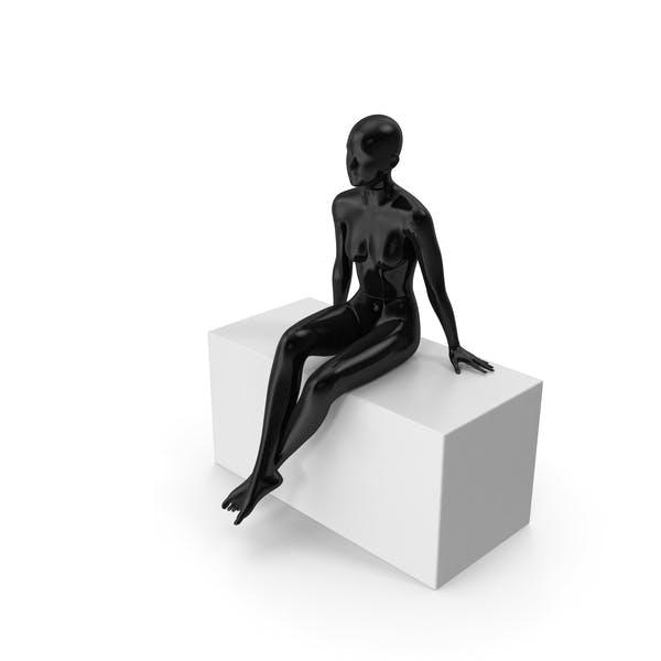 Female Mannequin Black