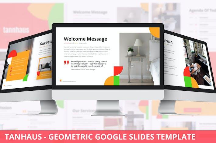 Tanhaus - Geometric Google Slides Template