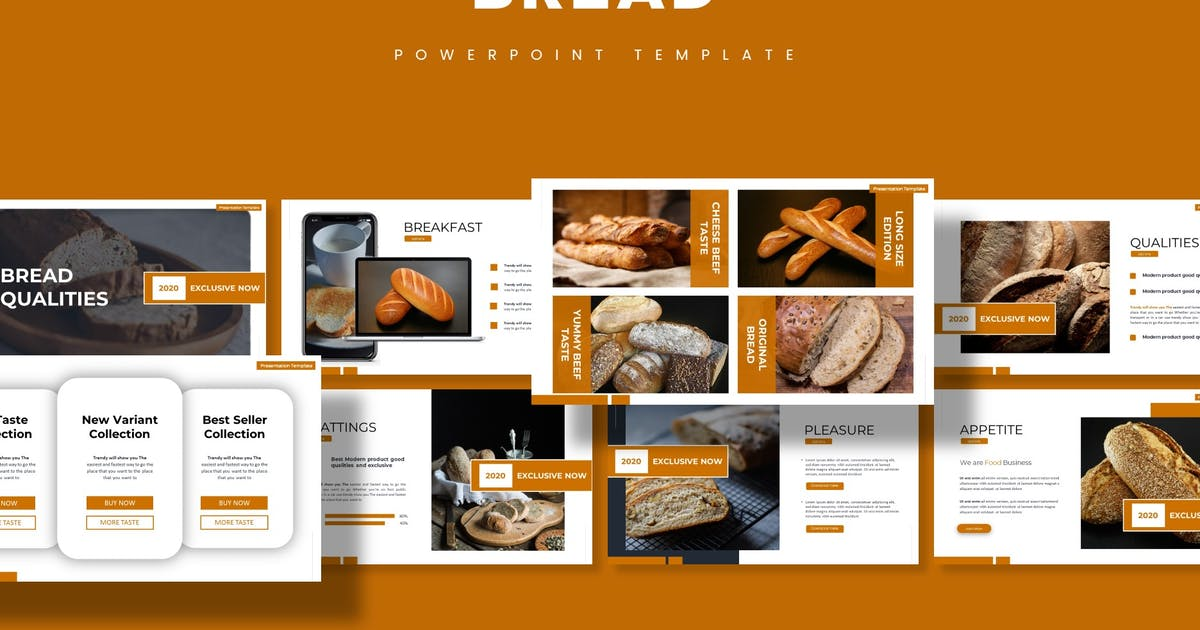 Download Bread - Powerpoint Template by aqrstudio
