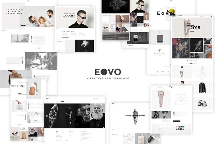 Thumbnail for EOVO - Creative PSD template
