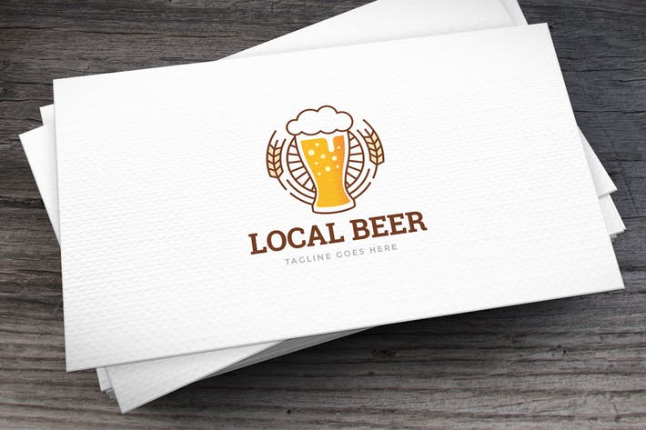 Thumbnail for Local Beer Logo Template