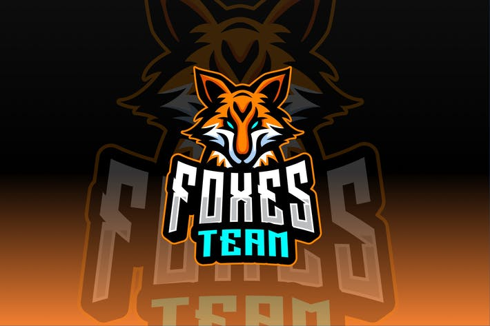 Thumbnail for Foxes Sport and Esport Logo Template