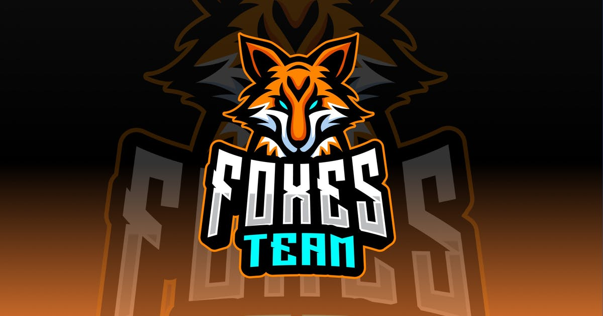 Download Foxes Sport and Esport Logo Template by queentype