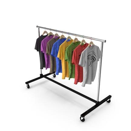 T-Shirt-Kleiderständer