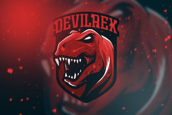 Thumbnail for Monster Dino Esport Logo Vol. 1