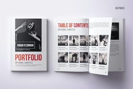 Multipurpose Portfolio - 36 Pgs INDD / IDML / PSD