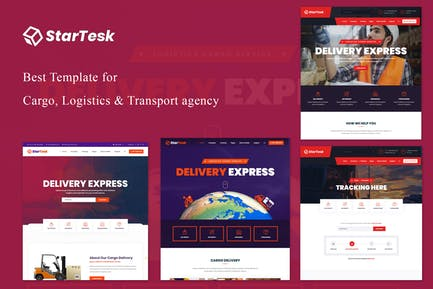 Startesk - Logistics & Transport HTML5 Template